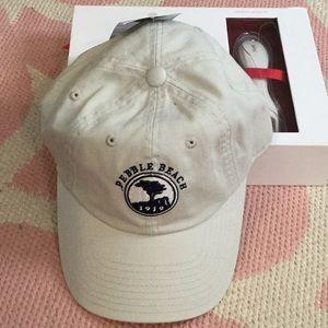 Pebble Beach Baseball Hat in Tan